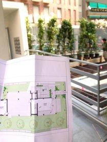 giardino condominiale - via Masotto 24 Milano